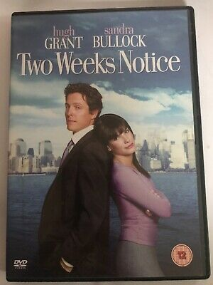 Two Weeks Notice DVD Comedy Sandra Bullock / Hugh Grant