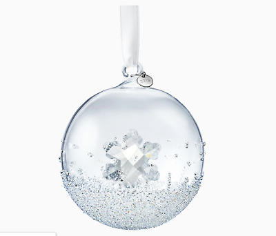 Authentic Swarovski Crystal ball 2019 Annual Edition Christmas Ornaments(Large)