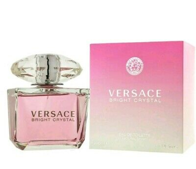 Versace Bright Crystal By Versace For Women EDT 6.7 Oz 200 Ml Spray New In Box