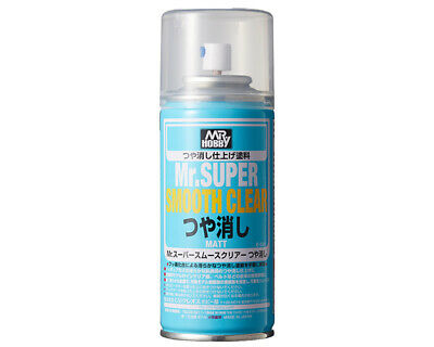 Mr.Hobby/Gunze B530 Mr.Super Smooth Clear Flat Spray (170ml) modellismo
