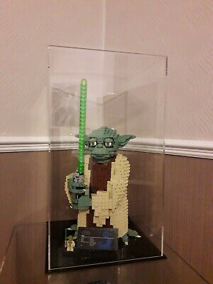 LEGO Star Wars 75255 Yoda  perspex acrylic model display case  uv protection