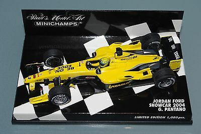 Minichamps F1 1/43 JORDAN FORD SHOWCAR 2004 - G. PANTANO - Limited Edition 1080p