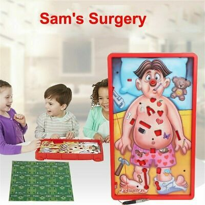 1set Operation Kids Family Classic Board Game Fun Childrens Xmas Gifts Toy Q0K6T
