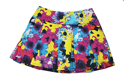 Girl's YOUNG VERSACE Bright Floral Skirt, Age 4 Years, with Hanger, BNWOT!