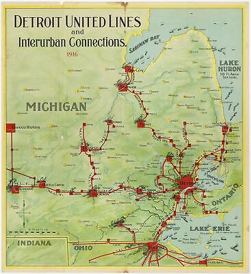 Detroit United Lines and Interurban Connections