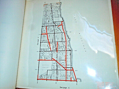 Rare 1961 CHICAGO ILLINOIS Book STREET CLASSIFICATION, HIGHWAYS IN CHICAGO