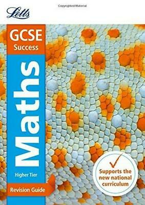 GCSE Maths Higher Revision Guide & GCSE 9-1 Letts GCSE Revision Success      h3