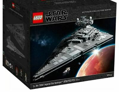 NEW Lego Star Wars Imperial Star Destroyer Set 75252 (4784 Pieces) Darth Vader