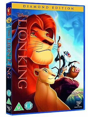 NEW & SEALED Disney The Lion King - Diamond Edition