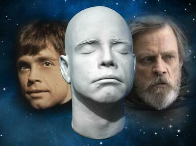 Mark Hamill 1:1 Life Mask - Star Wars - The Rise Of Skywalker