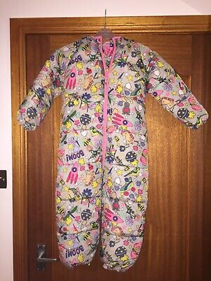 Next All In One Snowsuit Wintersuit Padded Girls Age 5-6