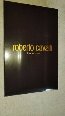 Roberto Cavalli Home Large Brown Gift Presentation Box + Leopard Wrapping Tissue