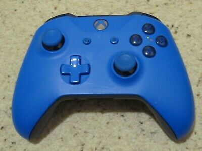 Official Microsoft Xbox One S 1708 Wireless Controller Blue Vortex.