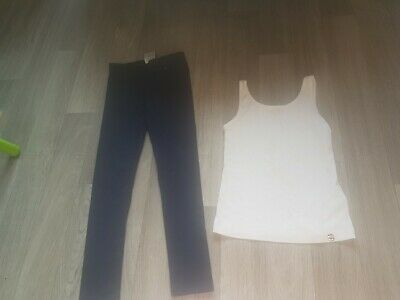 girls mayoral leggings and vest top age 8/9