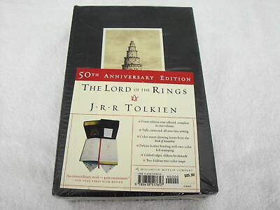 The Lord of the Rings: J.R.R Tolkien 50th Anniversary Edition, Leather HC,SEALED