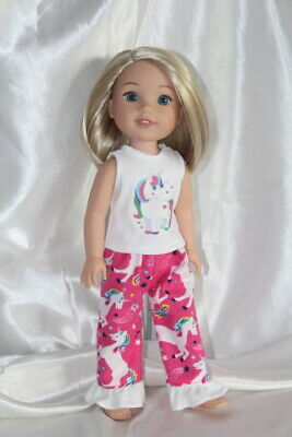 Dress Outfit fits 14inch American Girl Wellie Wishers Doll Clothes Unicorn Lot B