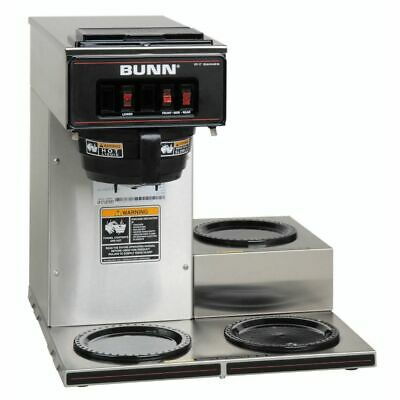 BUNN 13300.0003 Pourover Coffee Brewer with 3 Lower Warmers