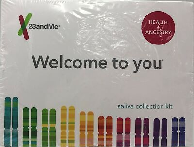 23 and Me Health + Ancestry Saliva Collection Kit - 862150000053