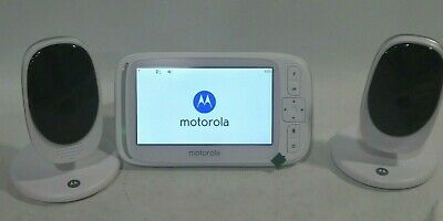 "Motorola Comfort50-2 Video Baby Monitor 5""LCD Color Display 2 Cameras 3 DAY SALE"