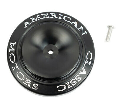 ACM Black Machined Billet Sucker Air Intake Filter Cleaner Accent Cover Harley
