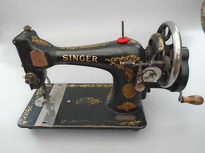 Vintage Singer Sewing Machine Model F241727 Spares Repairs