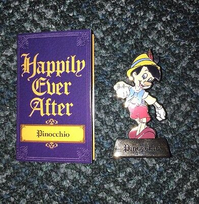 Disney Pin Pinocchio Le 500 Happily Ever After Mystery Pins Series 2014 Set/Lot