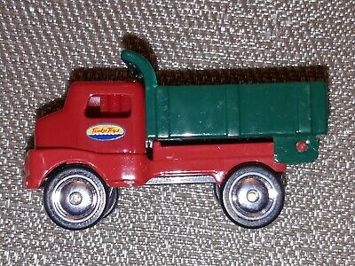 MAISTO TONKA DIECAST METAL  SERIES 1 PICKUP TRUCK RED Green Scale 1:64 used