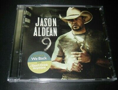 "Jason Aldean cd album 2019 ""9"" ""Nine"" brand new factory sealed free shipping"