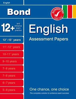 Bond English Assessment Papers 12+-13+ Years (Bond Assessment ... by Wren, Wendy