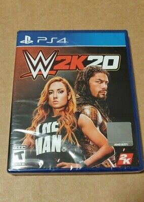 WWE W2K20 - PS4 GAME - Brand New w/ Free Shipping