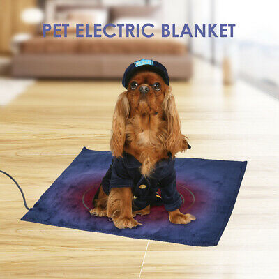 Waterproof Electric Heating Pad Heater Warmer Mat Bed Blanket For Pet Dog Cat