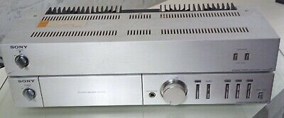 Sony Falcon Pre And Power Amplifier