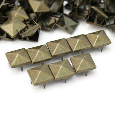 JP/_ 100 Pcs 10mm Stud Round Spike Rivet Bag Leather Craft Accessories DIY Perf