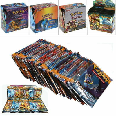 324pcs Cards Pokemon TCG Booster English Edition Break Point 36Packs Xmas Gift-*