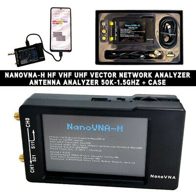 Vector Network Analyzer Measurement Frequency 2.8-inch Touch screen Durable