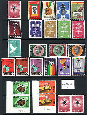 Commonwealth - Selection X 26 MNH & M/M Stamps.