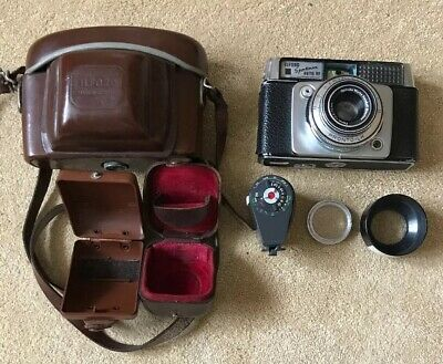 Ilford Sportsman Auto RF 35mm Camera with Case and Accessories