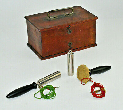 Antique Medical Quack Medicine Electro-Shock Therapy Device Home Medical Tool