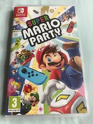Super Mario Party for Nintendo Switch, Quick Dispatch, Free UK Postage!