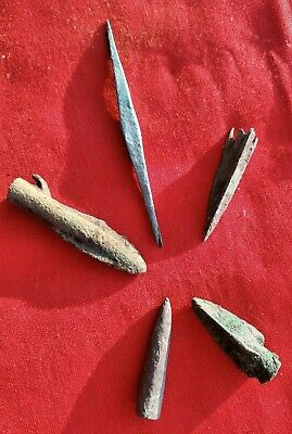 Bronze Arrowhead ca. 7th-6th BC / Ancient Weapons