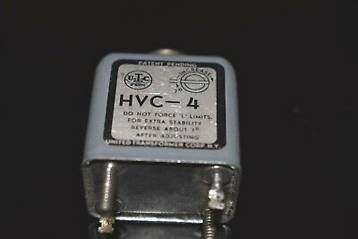 UTC HVC-4 Audio Tapped Coil Filter Choke  Tested