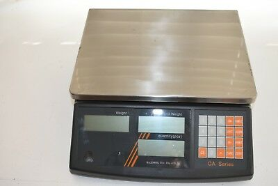 One WIS CA Series Counting Scale in Working Condition