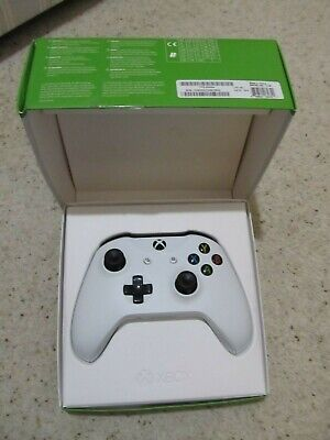 Official Microsoft Xbox One S 1708 Wireless Controller White Boxed