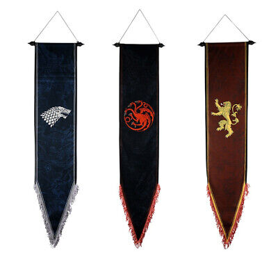 Game Of Thrones Flag Wall Banner Collectible Kids Room Gift Decor free shipping