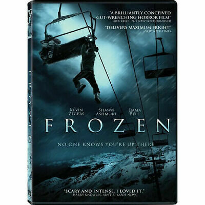 Frozen DVD Emma Bell Shawn Ashmore Kevin Zegers and Ed Ackerman