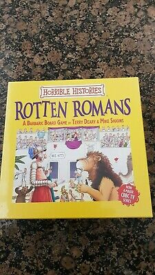Brand New, Sealed Horrible Histories Rotten Romans the Game, Board Game