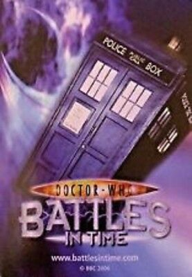 Dr Who Battles In Time Exterminator Cards - Finish Your Collection Here!