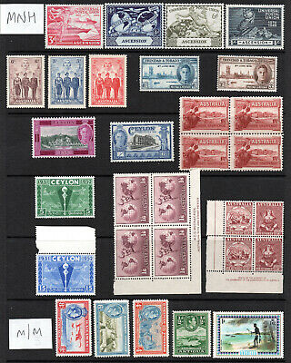 Commonwealth - Selection X 30 MNH & M/M Stamps.