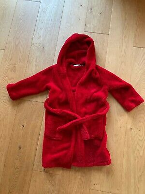 Boys Dressing Gown By John Lewis Age 5 Years Red
