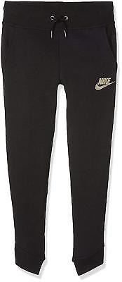 Girls Nike Tracksuit Bottoms Size Small 128-137Cm 8-10 Years.